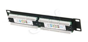 ALANTEC Patch panel UTP 12 portów LSA 10""