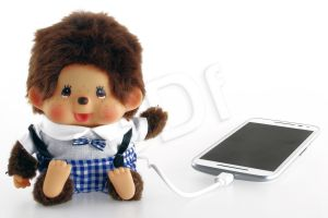 PowerNeed Powerbank P5200M2 5200mAh USB Monchhichi on